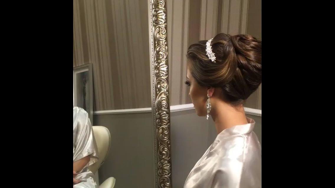 Penteado preso para noiva - O resultado vai conquistar você