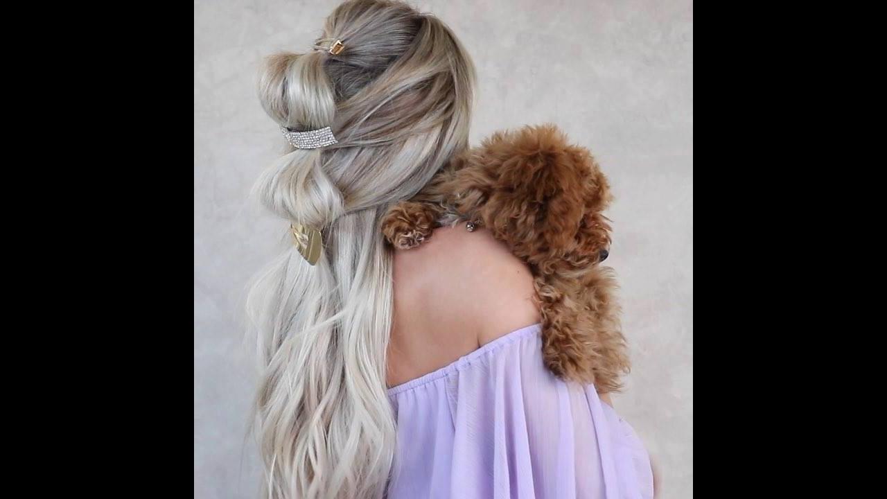Penteado simples e diferente