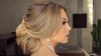 Penteado Sofisticado Preso, Um Luxo De Penteado Para Te Inspirar!