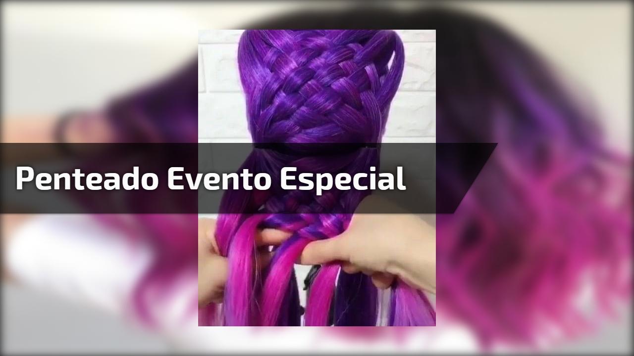 Penteado evento especial