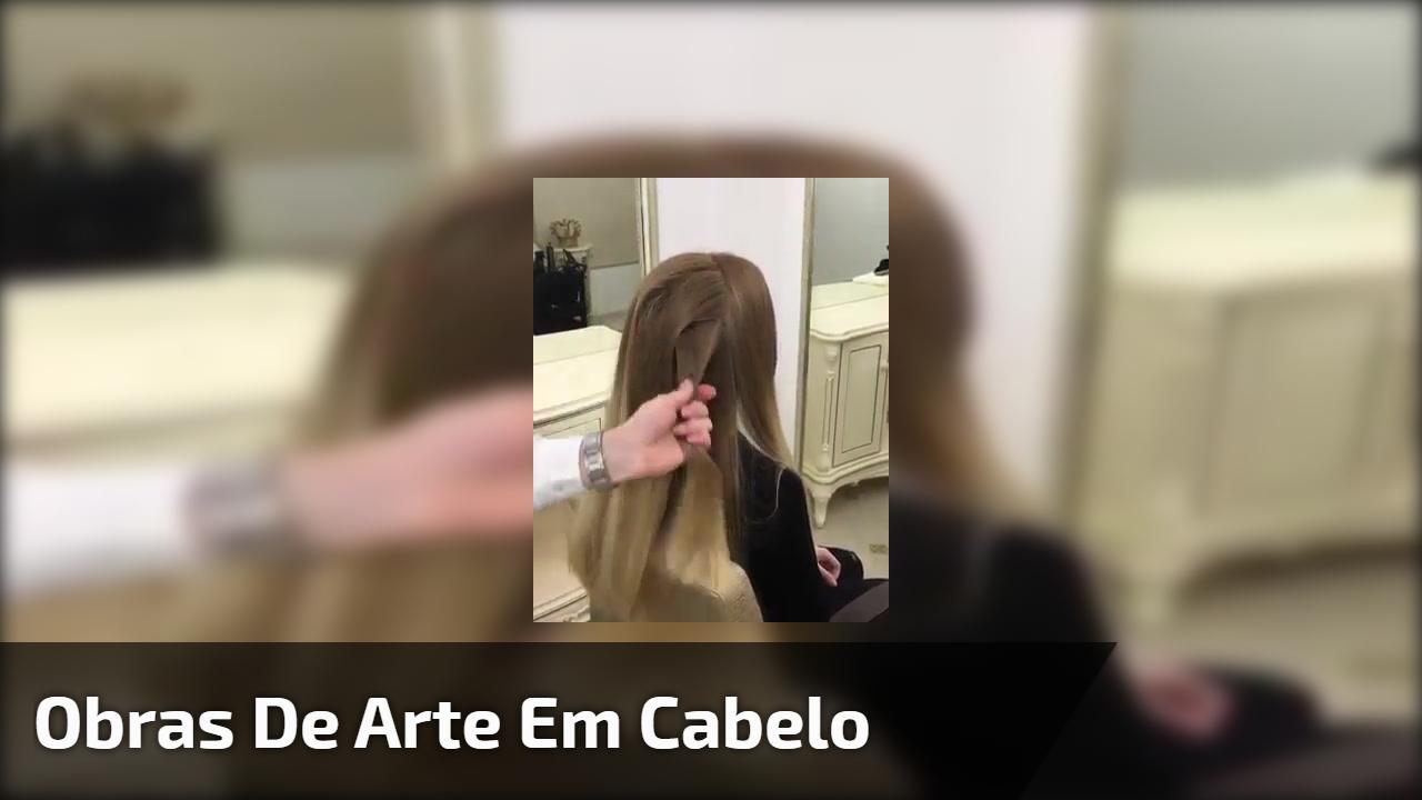 Obras de arte em cabelo