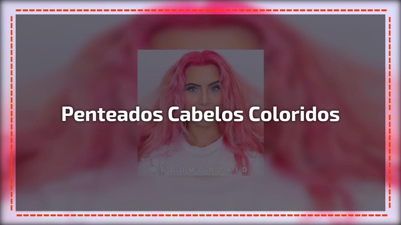 Penteados para cabelos coloridos, o cabelo rosa ficou ainda mais lindo!