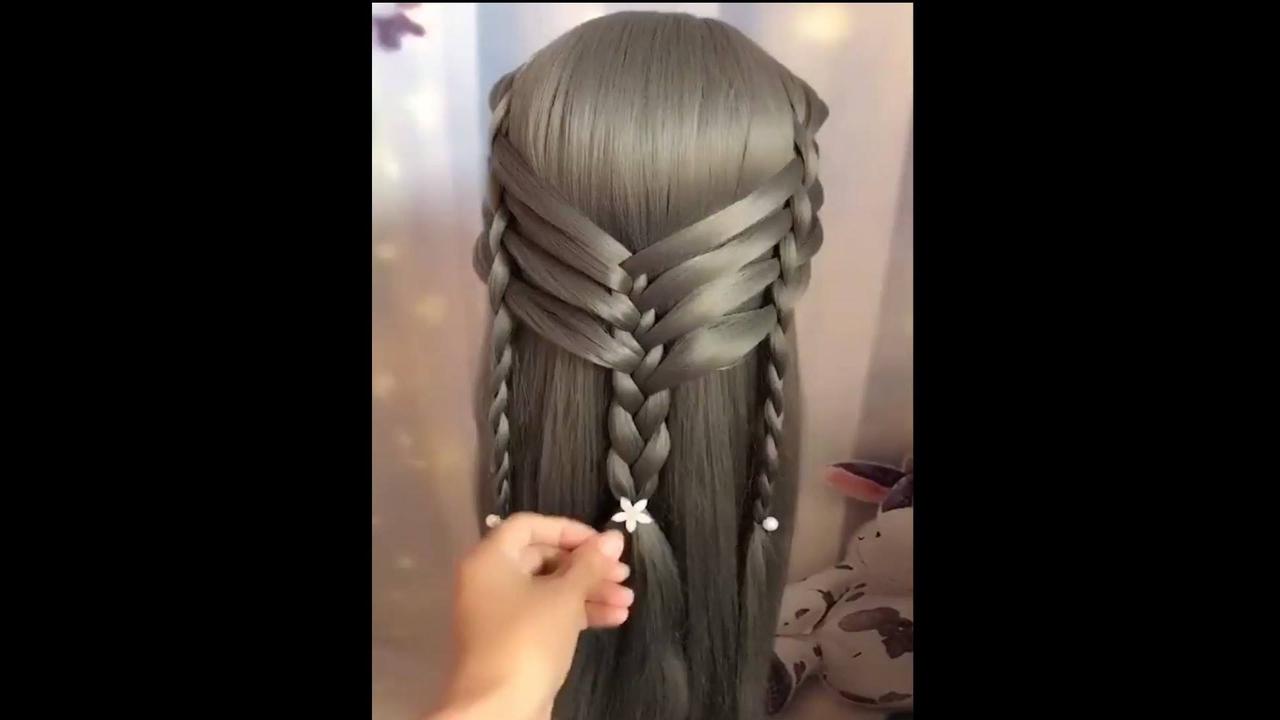 Penteados para cabelos longos com tranças, é um mais lindo que o outro!!!