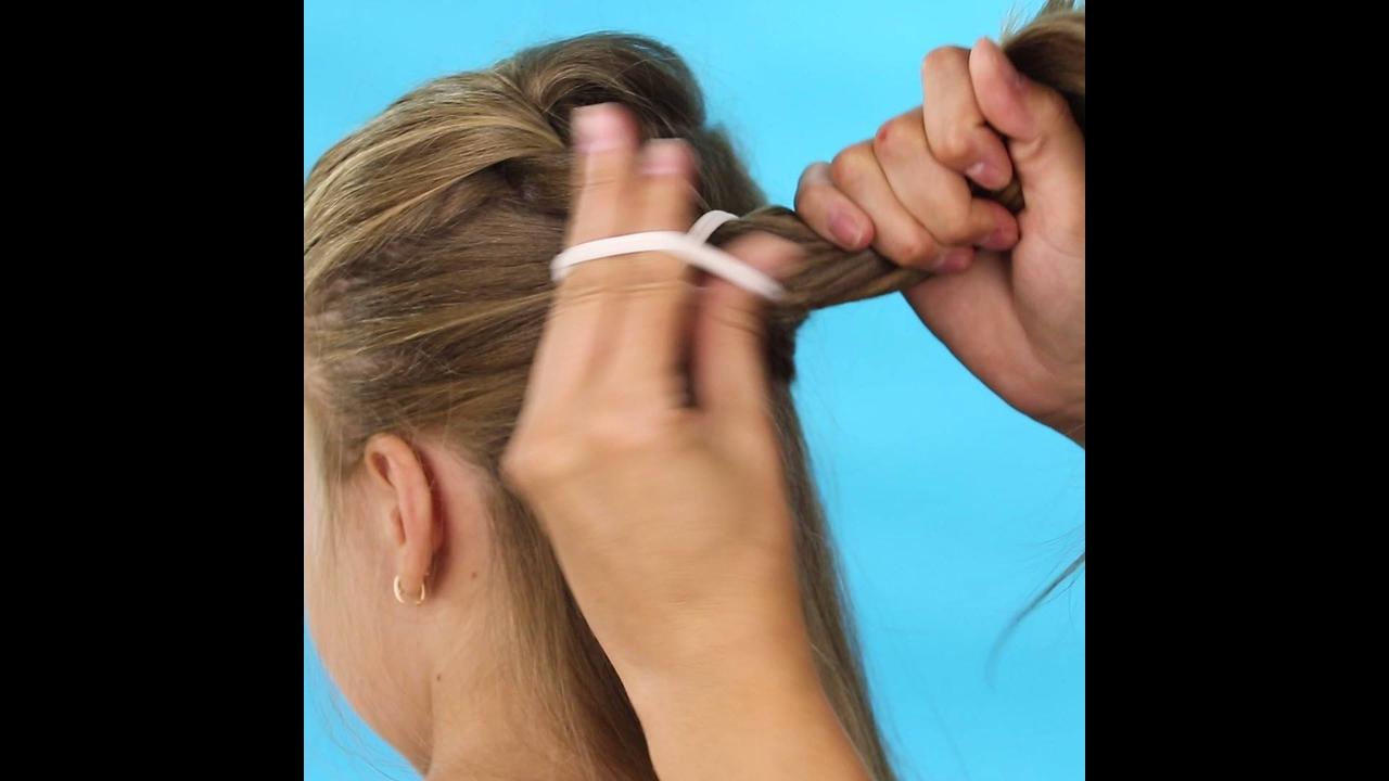 Penteados simples para fazer em meninas