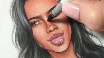 Pinturas Impressionantes De Mulheres Maquiadas Em Cada Detalhe!