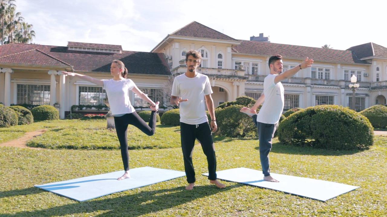 Prática de Yoga para iniciantes