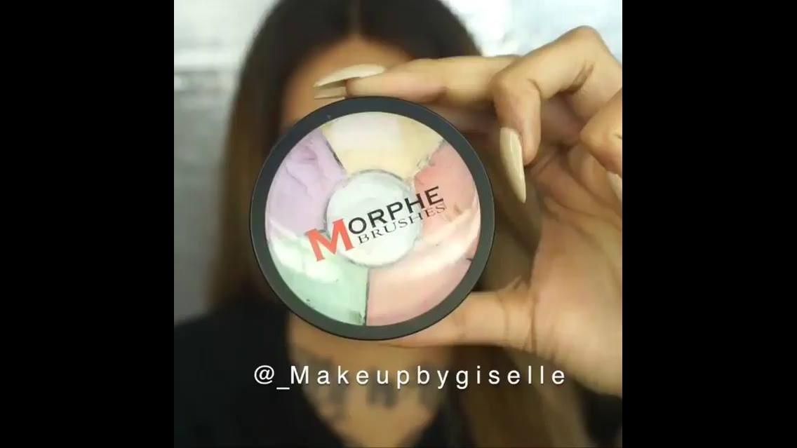 Preparação de pele com corretivo colorido, da só uma olhada como fica perfeito!