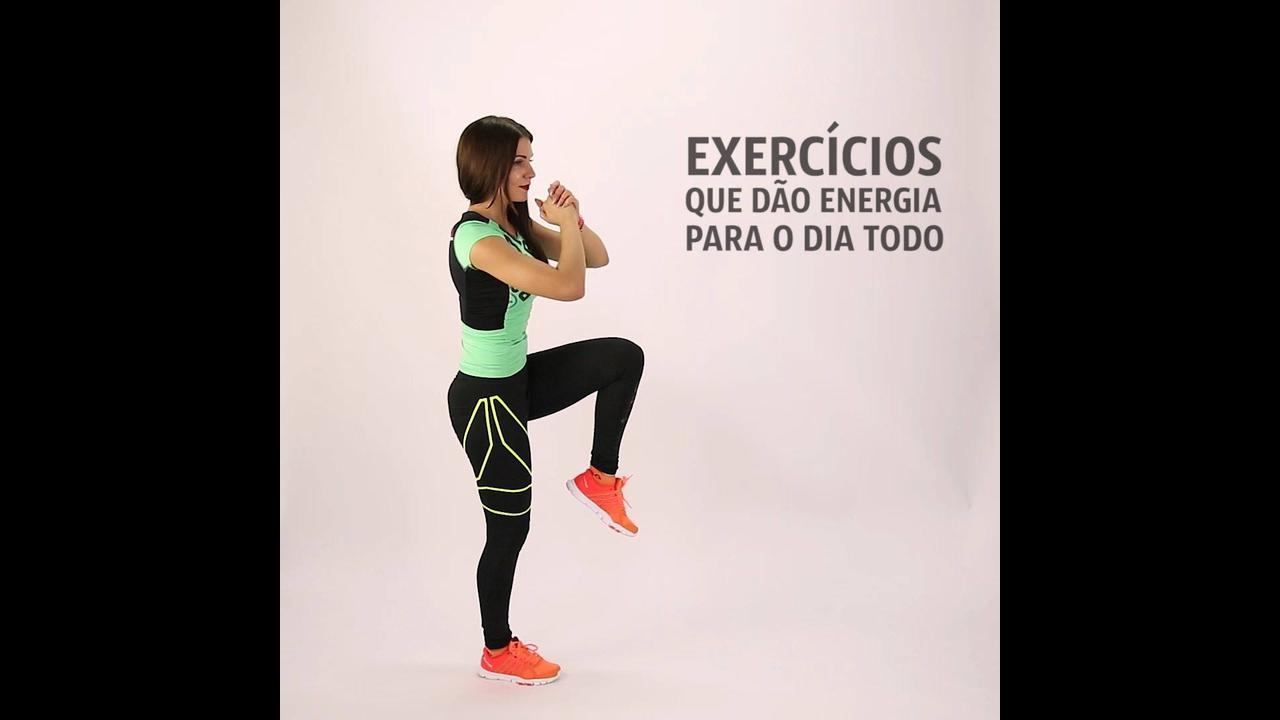 Quais exercícios que dão energia para o dia todo