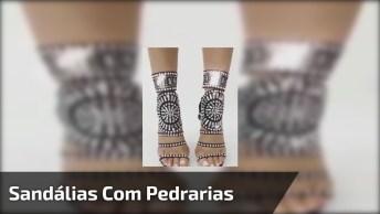 Sandálias Maravilhosas, Marque Sua Amiga Que Iria Se Apaixonar!
