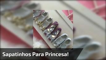 Sapatinhos Infantis Femininos, Uma Coleção Para Uma Princesa!