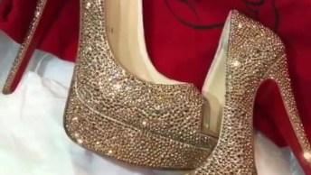 Sapato Mais Lindo Que Você Já Viu, Perfeito Para Momentos Especiais!