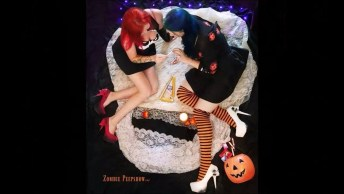 Sapatos Halloween - Com Esse Acessório Sua Fantasia Estará Completa!