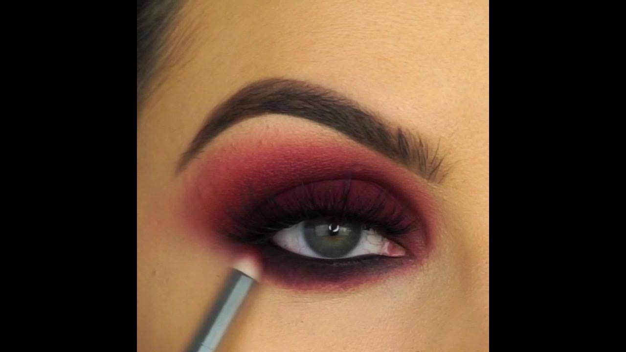 Sombra marrom avermelhada, super linda e diferente, confira!