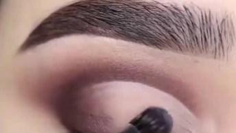 Sombra Para Festa De Gala, Que Maquiagem Mais Linda, Confira!