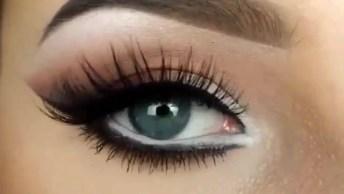 Sombra Para Os Olhos Que Ficam Mais Abertos E Lindos, Muito Legal!