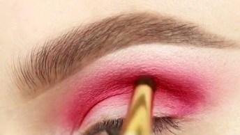 Sombra Vermelha Para Mulheres Que Amam Maquiagem E Gostam De Ousar!