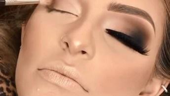 Sombras Nos Olhos Perfeitas, Parece Uma Obra De Arte Esses Olhos!