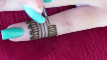 Tatuagem De Henna Linda Nas Mãos, Veja Como Parece Fácil De Fazer!