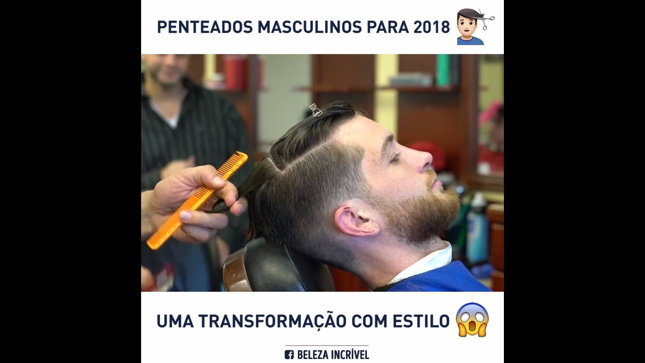 Tendencia de corte de cabelo masculinos para 2018