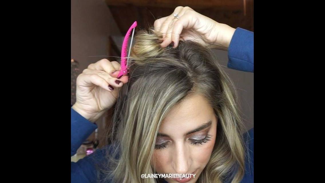 Tiara de trança, faça com o próprio cabelo seu