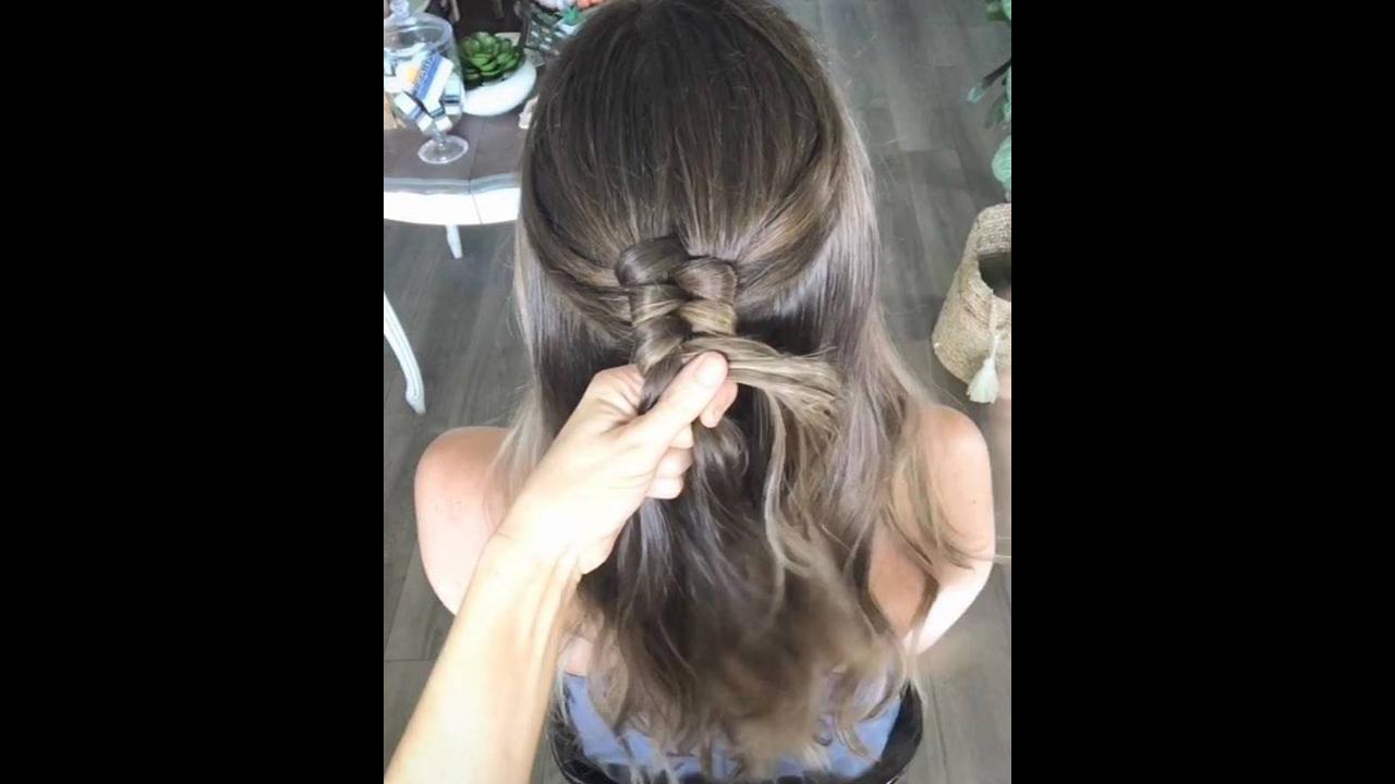 Trança ao contrário, aprenda a fazer esse penteado incrível