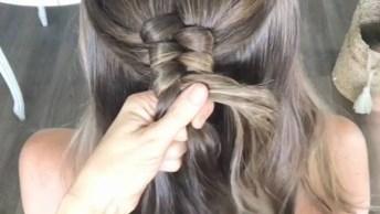 Trança Ao Contrário, Aprenda A Fazer Esse Penteado Incrível!