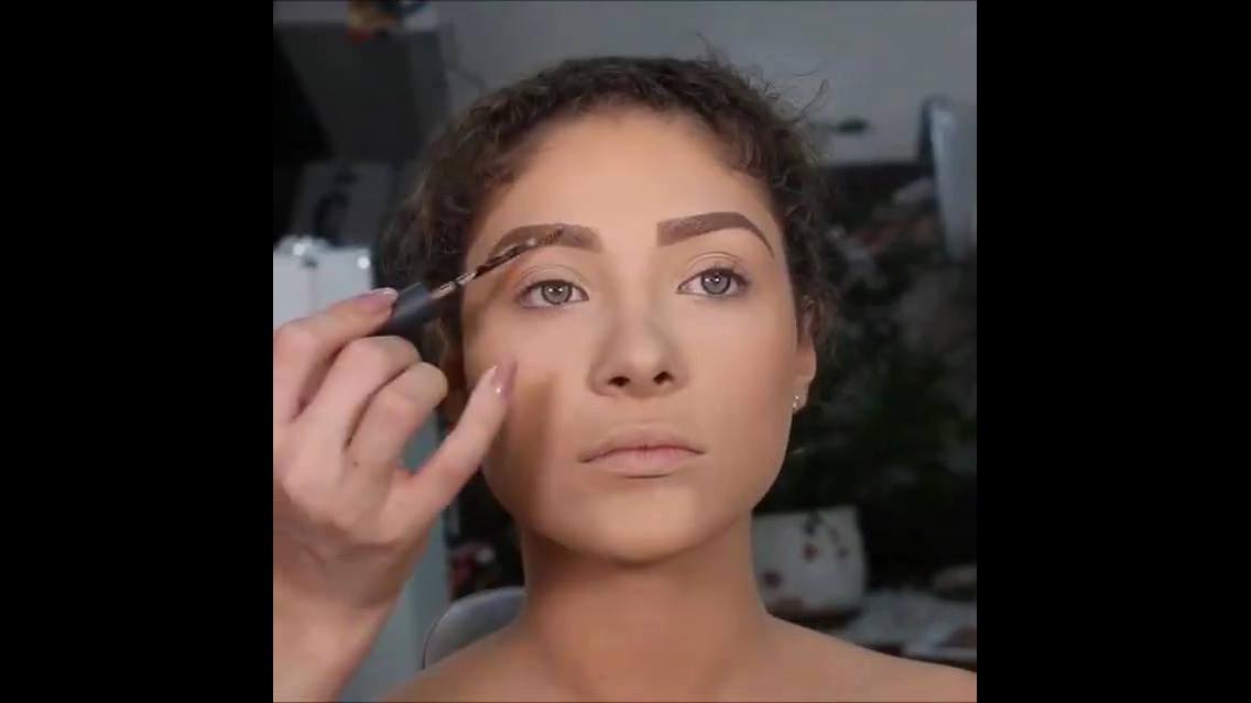 Transformação arrasadora com maquiagem