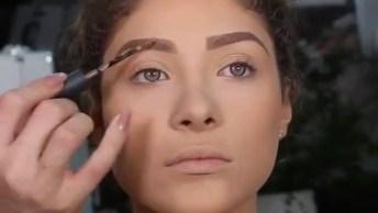 Transformação Arrasadora Com Maquiagem, Olha Só Que Espetáculo!