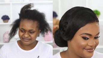 Transformação Com Cabelo E Maquiagem, Autoestima Devolvida Para Essa Mulher!