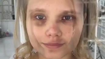 Transformação Com Maquiagem - A Moça Ficou Irreconhecível!