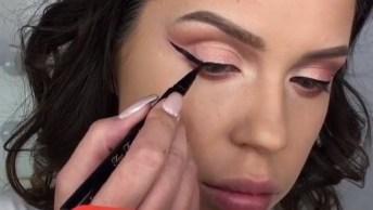 Transformação Com Maquiagem, Daquelas Que Chocam As Pessoas!