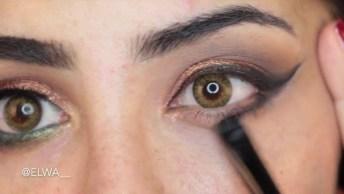 Transformação Com Maquiagem E Aplique Nos Cabelos, Ficou Linda!
