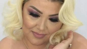 Transformação Com Maquiagem Lindíssima, Veja Que Lindos Olhos!