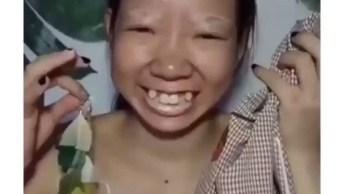 Transformação Com Maquiagem Nível Asiático, Você Vai Ficar Chocada!