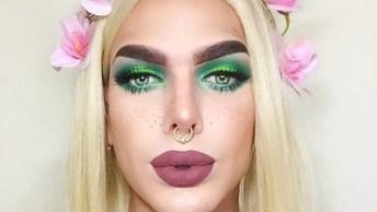 Transformação Com Maquiagem - O Resultado É Chocante E Diferente!
