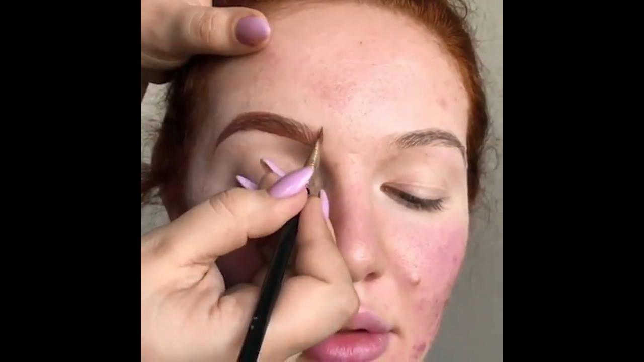 Transformação com maquiagem, o resultado surpreende