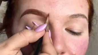 Transformação Com Maquiagem, O Resultado Surpreende, Confira!