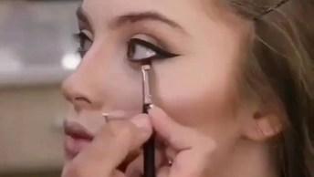 Transformação Com Maquiagem, Olha Só Que Make Linda, Perfeita!