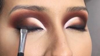 Transformação Com Maquiagem, Veja Que Técnica Maravilhosa De Sombra!