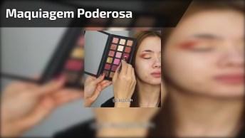 Transformação Com Maquiagem, Você Vai Amar O Resultado, Confira!