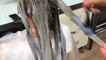 Transformação De Cabelo Castanho Para Loiro, Olha Só Que Lindo Trabalho!