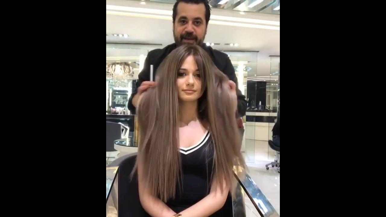 Transformação de cabelo com colocação de mega hair, veja que lindo!!!