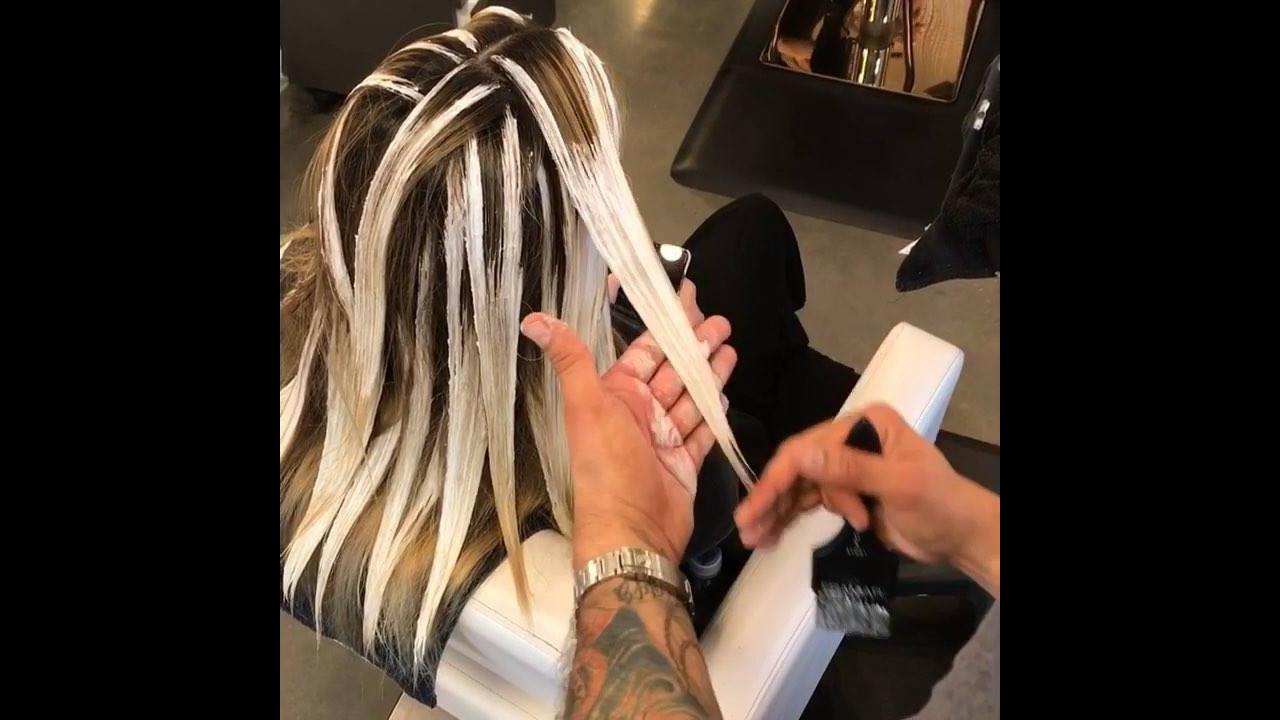 Transformação de cabelo com descolorante, veja que lindo resultado!!!