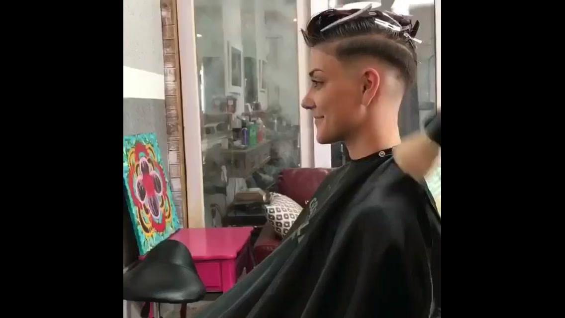 Transformação de cabelo lindíssima, olha só que trabalho fantástico!!!