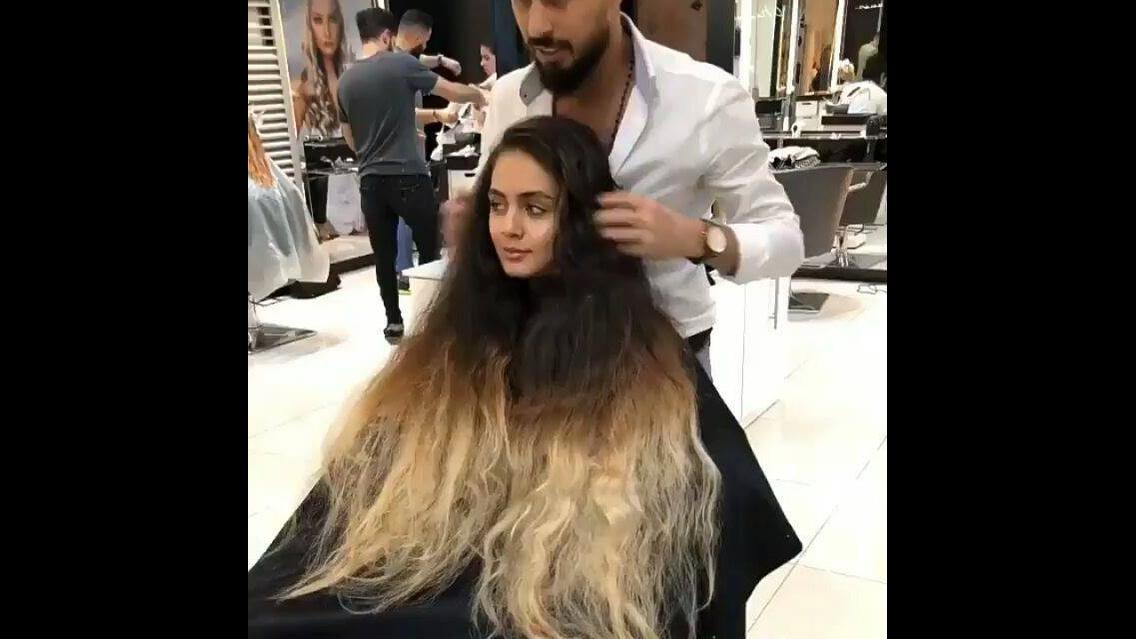Transformação de cabelo maravilhoso
