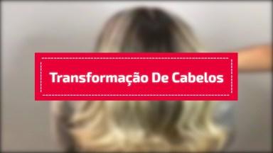 Transformação De Cabelos Castanhos Para Loiros, Vale A Pena Conferir!