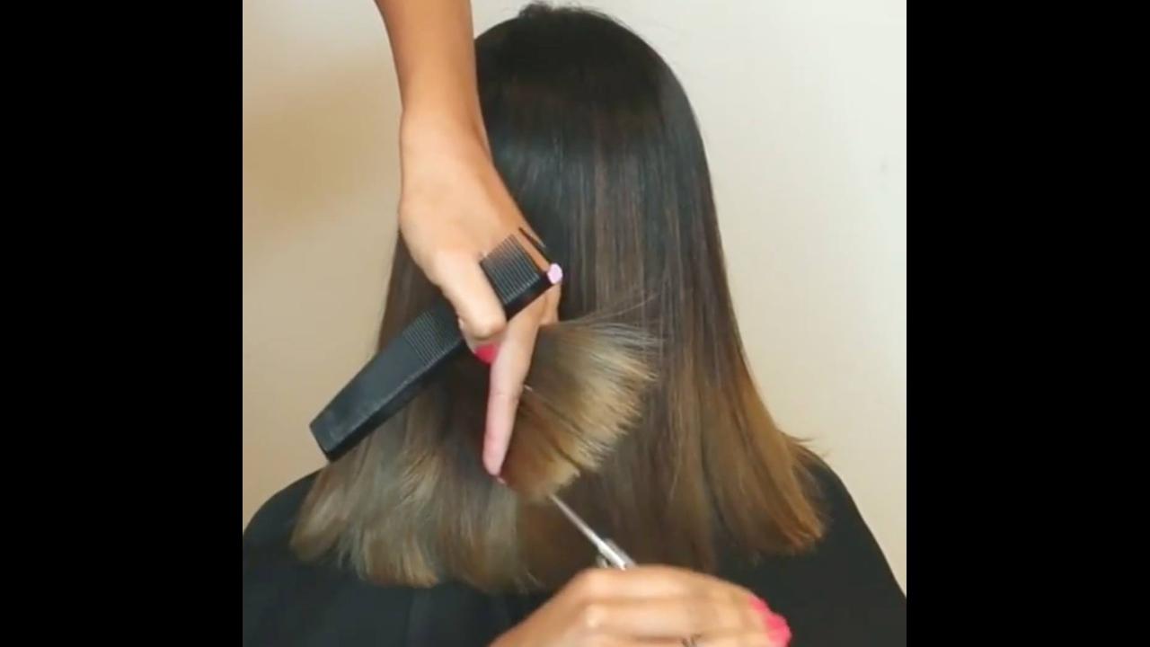 Transformação de cabelos, o resultado é muito lindo