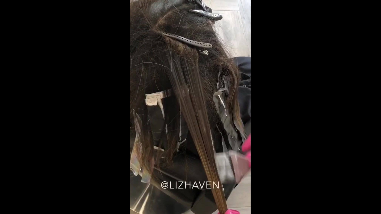 Transformação de cor de cabelo, veja que lindo antes e depois!!!