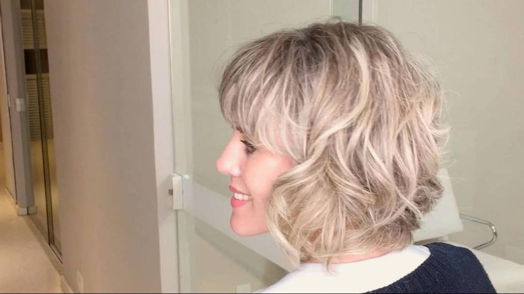 Transformação de corte de cabelo, veja que corte maravilhoso!!!