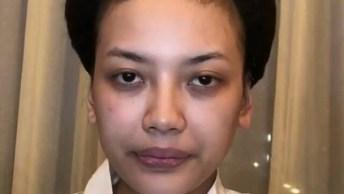 Transformação De Maquiagem, Olha Só Que Coisa Mais Linda Esta Make!